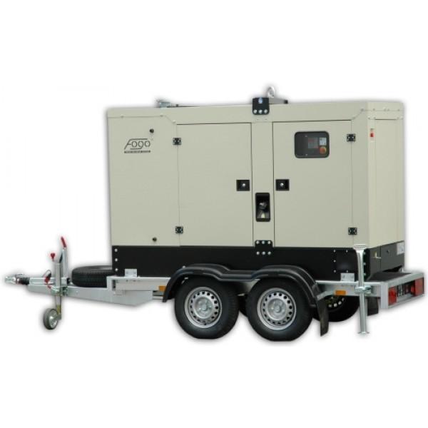 Groovy Agregat Prądotwórczy Fogo FI60 - (60 kVA-48 kW) wersja mobilna na SB48
