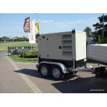 Agregat Prądotwórczy Fogo FI80 - (75 kVA-60 kW) wersja mobilna na przyczepie