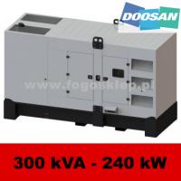 FDG 300 DS - moc ( 300 kVA = 240 kW ) - agregaty prądotwórcze fogo, model FDG300DS kod FD300ACG
