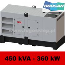 FDG 450 DS - moc ( 450 kVA = 360 kW ) - agregaty prądotwórcze fogo, model FDG450DS kod FD450ACG