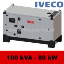 FDG 100 IS - moc ( 99 kVA = 79 kW ) - agregaty prądotwórcze fogo, model FDG100IS kod FI100ACG