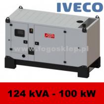 FDG 120 IS - moc ( 124 kVA = 99 kW ) - agregaty prądotwórcze fogo, model FDG120IS kod FI120ACG