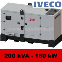 FDG 200 IS - moc ( 200 kVA = 160 kW ) - agregaty prądotwórcze fogo, model FDG200IS kod FI200ACG