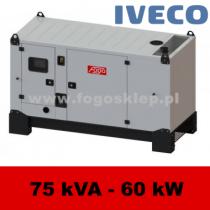 FDG 80 IS - moc ( 74 kVA = 59 kW ) - agregaty prądotwórcze fogo, model FDG80IS kod FI80ACG