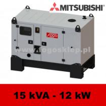 FDG 15 MS - moc ( 14,7 kVA = 12 kW ) - agregaty prądotwórcze fogo, model FDG15MS kod FM15ACG