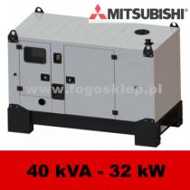 FDG 40 MS - moc ( 40 kVA = 32 kW ) - agregaty prądotwórcze fogo, model FDG40MS kod FM40ACG