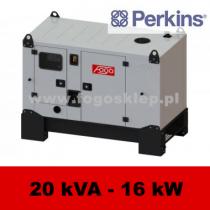FDG 20 PD - moc ( 19,6 kVA = 16 kW ) - agregaty prądotwórcze fogo, model FDG20PD kod FP20ACG