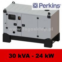 FDG 30 P3D - moc ( 30 kVA = 24 kW ) - agregaty prądotwórcze fogo, model FDG30P3D kod FP30ACGstage3A