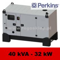 FDG 40 PD - moc ( 40 kVA = 32 kW ) - agregaty prądotwórcze fogo, model FDG40PD kod FP40ACG