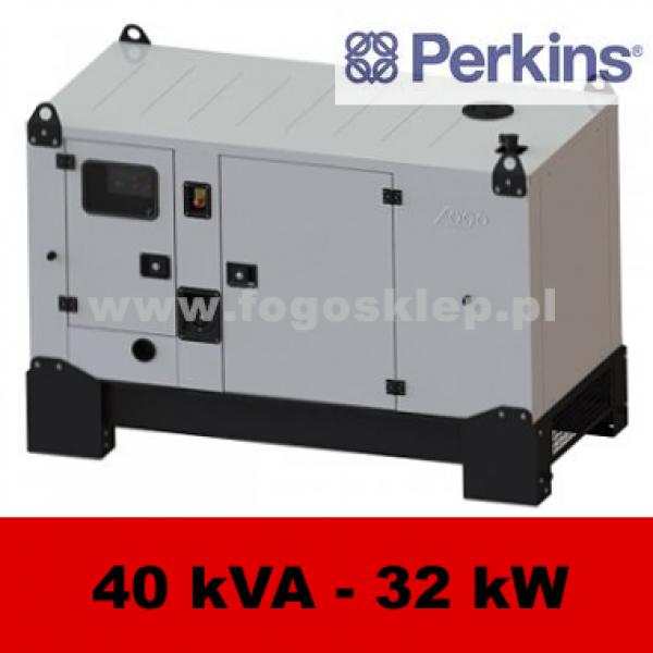 Ogromny FDG 40 PD - moc ( 40 kVA = 32 kW ) - agregaty prądotwórcze fogo FA03