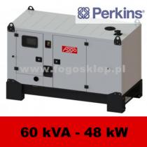 FDG 60 P3D - moc ( 60 kVA = 48 kW ) - agregaty prądotwórcze fogo, model FDG60P3D kod FP60ACGstage3A