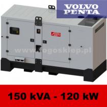 FDG 150 VS - moc ( 153 kVA = 122 kW ) - agregaty prądotwórcze fogo, model FDG150VS kod FV150ACG