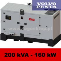 FDG 200 VS - moc ( 200 kVA = 160 kW ) - agregaty prądotwórcze fogo, model FDG200VS kod FV200ACG