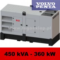 FDG 450 VS - moc ( 450 kVA = 360 kW ) - agregaty prądotwórcze fogo, model FDG450VS kod FV450ACG