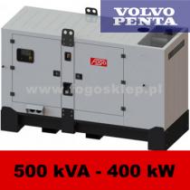 FDG 500 V3S - moc ( 500 kVA = 400 kW ) - agregaty prądotwórcze fogo, model FDG500V3S kod FV500ACGstage3A