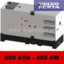 FDG 600 VS - moc ( 594 kVA = 475 kW ) - agregaty prądotwórcze fogo, model FDG600VS kod FV600ACG