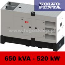 FDG 650 VS - moc ( 634 kVA = 507 kW ) - agregaty prądotwórcze fogo, model FDG650VS kod FV650ACG