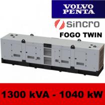 FDT 1300 VS - moc ( 1268 kVA = 1014 kW ) - agregaty prądotwórcze fogo, model FDT1300VS kod FV1300ACGTWIN