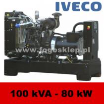FDF 100 IS - moc ( 99 kVA = 80 kW ) - agregaty prądotwórcze fogo, model FDF100IS kod FI100AG