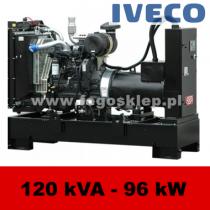 FDF 120 IS - moc ( 124 kVA = 100 kW ) - agregaty prądotwórcze fogo, model FDF120IS kod FI120AG
