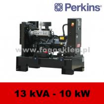 FDF 13 PD - moc ( 12,3 kVA = 10 kW ) - agregaty prądotwórcze fogo, model FDF13PD kod FP13AG