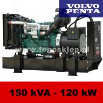 FDF 150 VS - moc ( 153 kVA = 122 kW ) - agregaty prądotwórcze fogo, model FDF150VS kod FV150AG