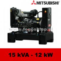 FDF 15 MS - moc ( 14,7 kVA = 12 kW ) - agregaty prądotwórcze fogo, model FDF15MS kod FM15AG