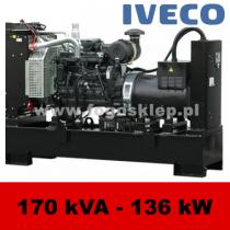 FDF 170 IS - moc ( 172 kVA = 138 kW ) - agregaty prądotwórcze fogo, model FDF170IS kod FI170AG