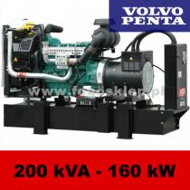 FDF 200 VS - moc ( 200 kVA = 160 kW ) - agregaty prądotwórcze fogo, model FDF200VS kod FV200AG