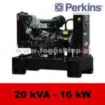 FDF 20 PD - moc ( 19,6 kVA = 16 kW ) - agregaty prądotwórcze fogo, model FDF20PD kod FP20AG