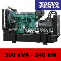 FDF 300 VS - moc ( 300 kVA = 240 kW ) - agregaty prądotwórcze fogo, model FDF300VS kod FV300AG