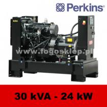 FDF 30 PD - moc ( 30 kVA = 24 kW ) - agregaty prądotwórcze fogo, model FDF30PD kod FP30AG