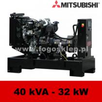 FDF 40 MS - moc ( 40 kVA = 32 kW ) - agregaty prądotwórcze fogo, model FDF40MS kod FM40AG