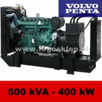 FDF 500 VS - moc ( 500 kVA = 400 kW ) - agregaty prądotwórcze fogo, model FDF500VS kod FV500AG