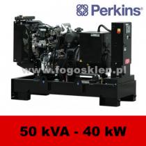 FDF 50 PD - moc ( 44 kVA = 35 kW ) - agregaty prądotwórcze fogo, model FDF50PD kod FP50AG