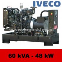 FDF 60 IS - moc ( 60 kVA = 48 kW ) - agregaty prądotwórcze fogo, model FDF60IS kod FI60AG