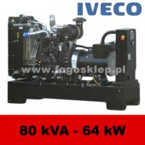 FDF 80 IS - moc ( 74 kVA = 59 kW ) - agregaty prądotwórcze fogo, model FDF80IS kod FI80AG